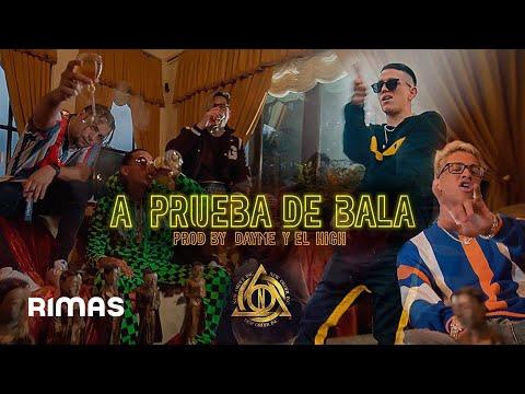 Lenny Tavarez X Jeeiph X Ele A El Dominio - A Prueba De Bala (Video Oficial)