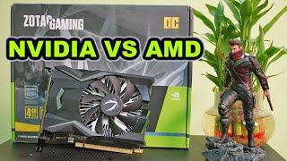NVIDIA GTX 1650 VS AMD RX 570. War of Budget GPUs.