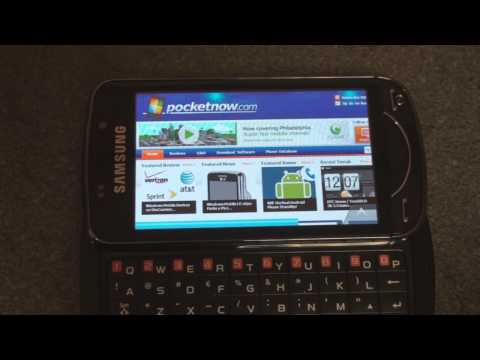 Samsung Omnia Pro B7610 Programs Tour