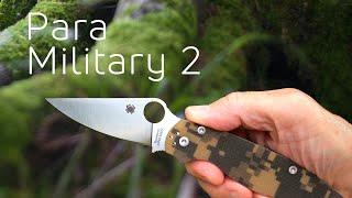 копия ножа Spyderco Para-Military 2 - обзор посылки с Aliexpress