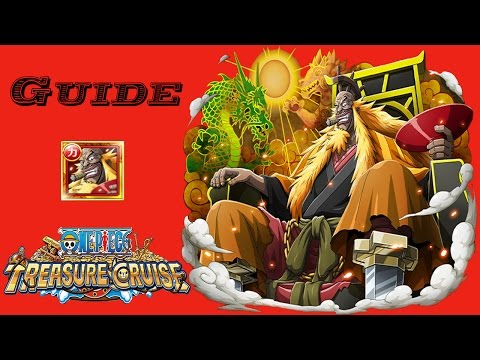 Shiki Raid Boss Guide One piece Treasure cruise