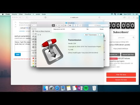 HOW TO Download Torrent Files On A MAC With Transmission