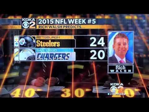 Charlie Batch picks week 5 matchup between Pittsburgh Steelers & San Diego Chargers