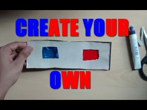 how to make polarized 3d glasses at home