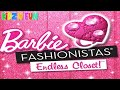 Barbie Fashionistas Endless Closet - Dress Up & Designing Game for Little Girls