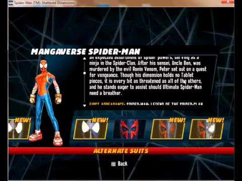 Скачать Трейнер Для Spider Man Shattered Dimensions - фото 11