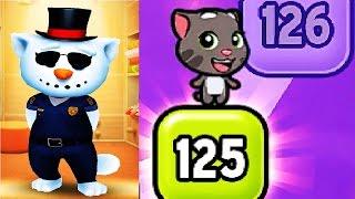 МОЙ ГОВОРЯЩИЙ ТОМ и ГОВОРЯЩАЯ АНДЖЕЛА #281 Мультик для детей Мульт про котиков #Мобильные игры