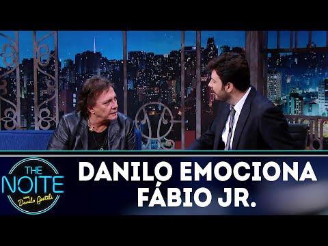 Danilo Gentili emociona Fábio Jr. | The Noite (12/03/18)