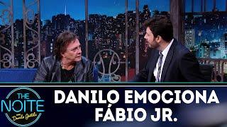 Danilo Gentili emociona Fábio Jr.   The Noite (12/03/18)