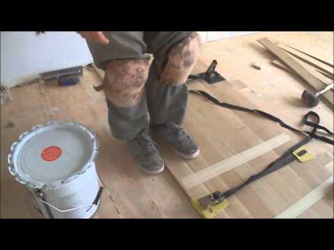 Wood Floor Strap Clamps in Hardwood Floor Glue Down Installation How to Use Mryoucandoityourself