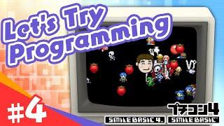 [SmileBASIC 4] Let's Try Programming #4 ~Image Pop-Up Program~[Nintendo Switch™]