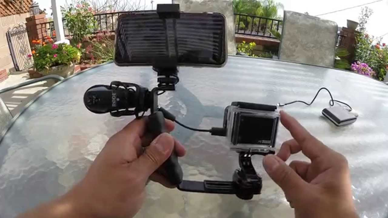 Gopro Tip Charge And Use External Microphone At The Same
