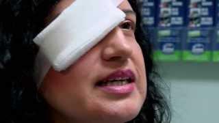 Eye Lid Ripped In Half - Bizarre ER