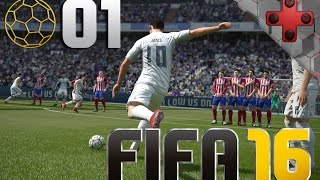 FIFA 16 | Part #01 | PS4 Controller an PC | Let