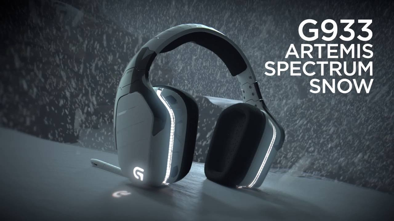 Logitech G933 Artemis Spectrum 7 1 Surround Sound Wireless Gaming
