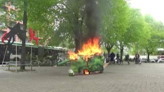 revolutionäre 1.Mai Demonstration 2017 Magdeburg