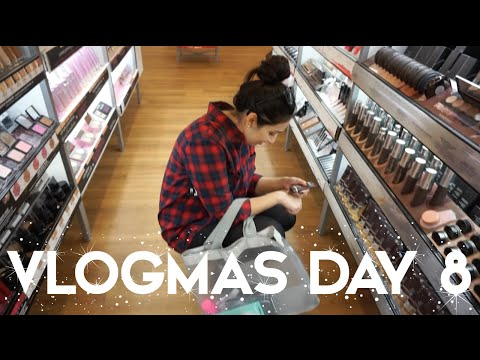 2015 VLOGMAS DAY 8 | ULTA HAUL & NEW NAILS