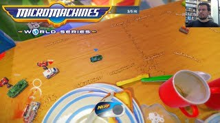 MICRO MACHINES WORLD SERIES (PC / PS4 / Xbox One) --- Gameplay en Español