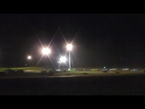 Marion Center Speedway 8/27/16 Street Stock Feature (VIDEO GOES UPSIDE DOWN AT 8:29)