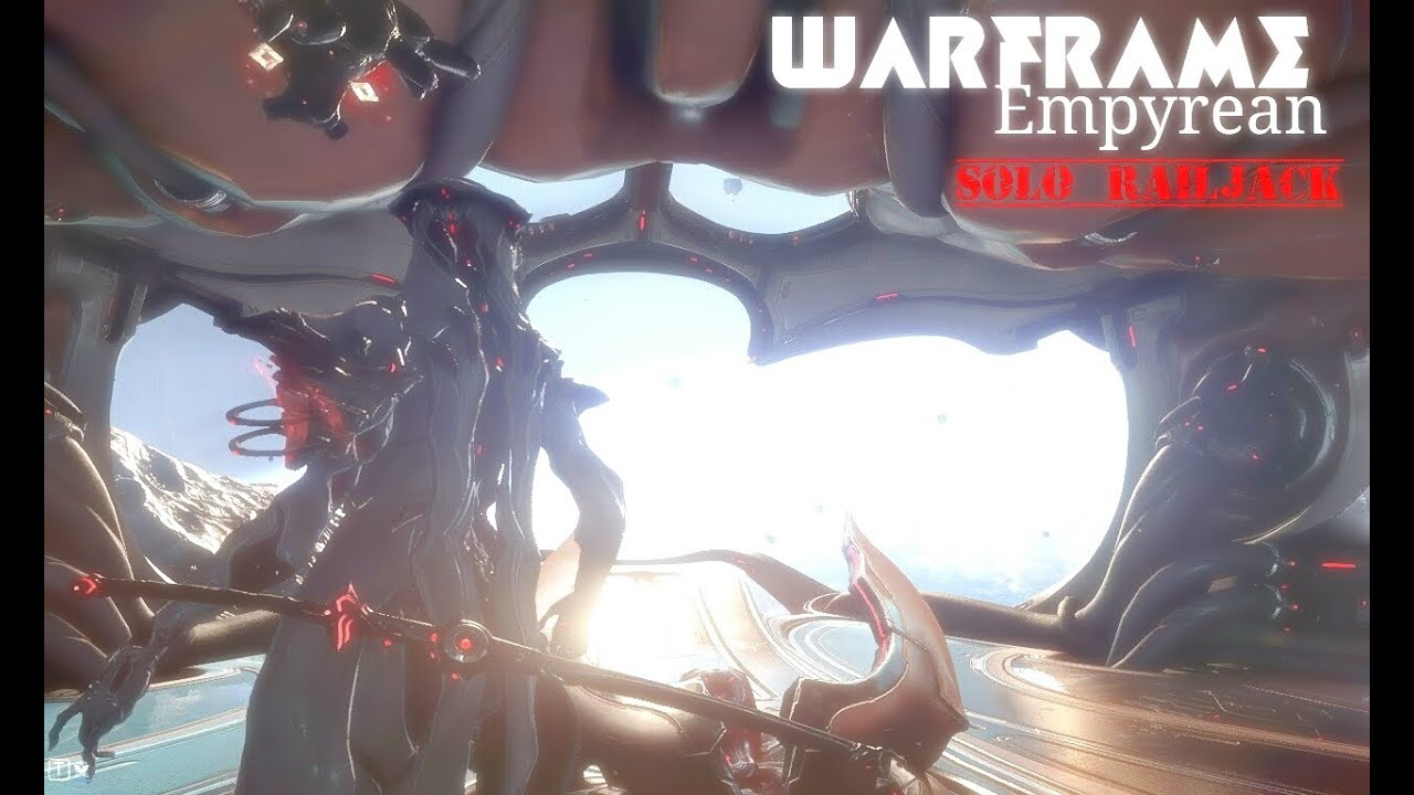 Warframe: Empyrean, First time ever solo Railjack mission on earth.