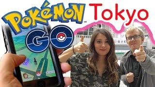 Pokemon GOに挑戦!新宿で歩き外国人 第25話