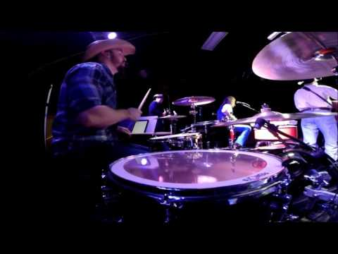 Jeff Carson - Not On Your Love - Live 2016 - (Drum Cam)