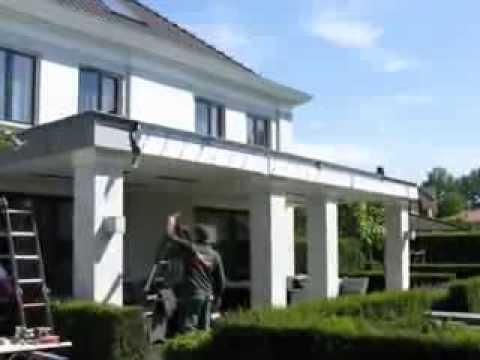 Modern klassiek aanbouw veranda het fundament architectuur youtube - Veranda modern huis ...