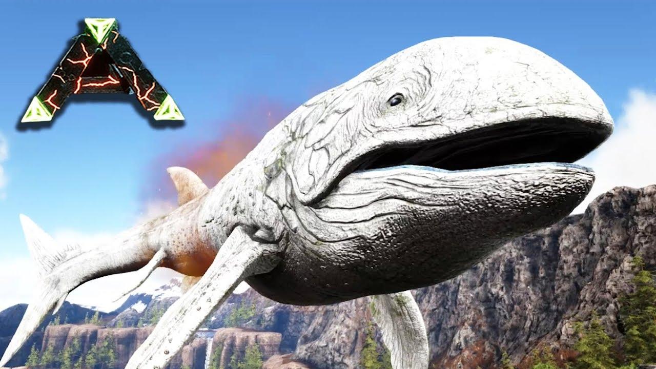 天空を泳ぐ超希少巨大古代魚発見! & 新拠點を建築する ARK ...