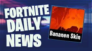 Fortnite Daily News *SEASON 8* BANANEN SKIN (27 February 2019)