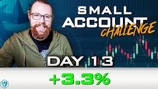 Day 13 of My New Small Account Challenge | Recap by Ross Cameron