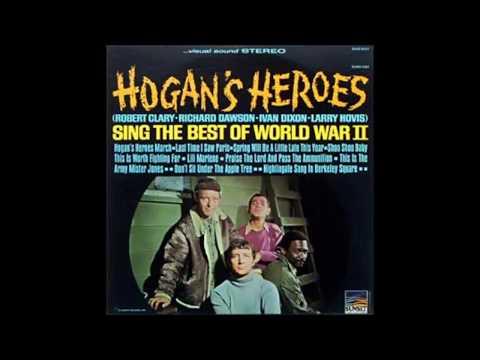 Nightingale Sang In Berkley Sqaure Richard Dawson & Larry Hovis Hogan's Heroes