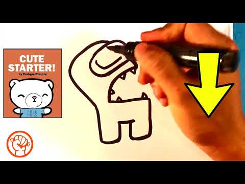 How to Draw Among Us Imposter - with Tongue - Drawing Lesson