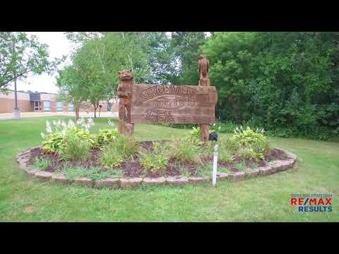 Aerial Video of Birchview Elementary School - Plymouth, MN