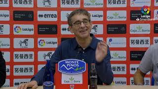 Rueda de prensa de  Fernando Vázquez tras el CD Numancia vs RC Deportivo (0-1)