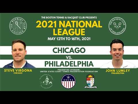 2021 National League - Lumley (PHL) vs. Virgona (CHI)