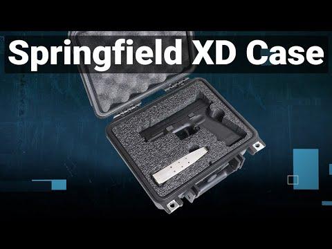 Springfield XD Pistol Case - Video