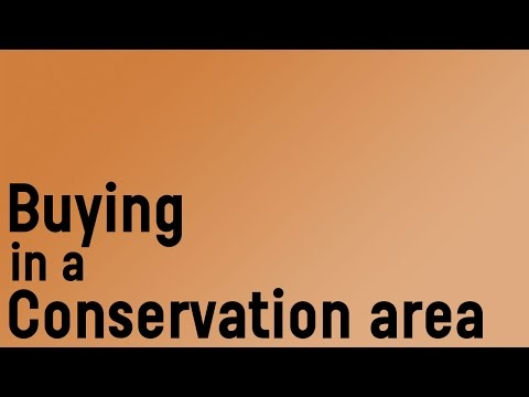 Buying In A Conservation Area