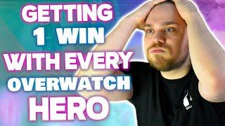 GETTING 1 WIN WITH EVERY OVERWATCH HERO *CHALLENGE* | mL7