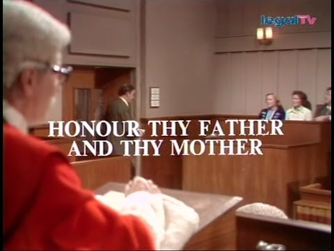Crown Court - Honour Thy Father... (1979)