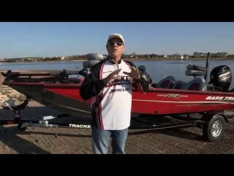 Fox Sports Outdoors anchor Barry Stokes on the Bass Tracker Pro Team 175