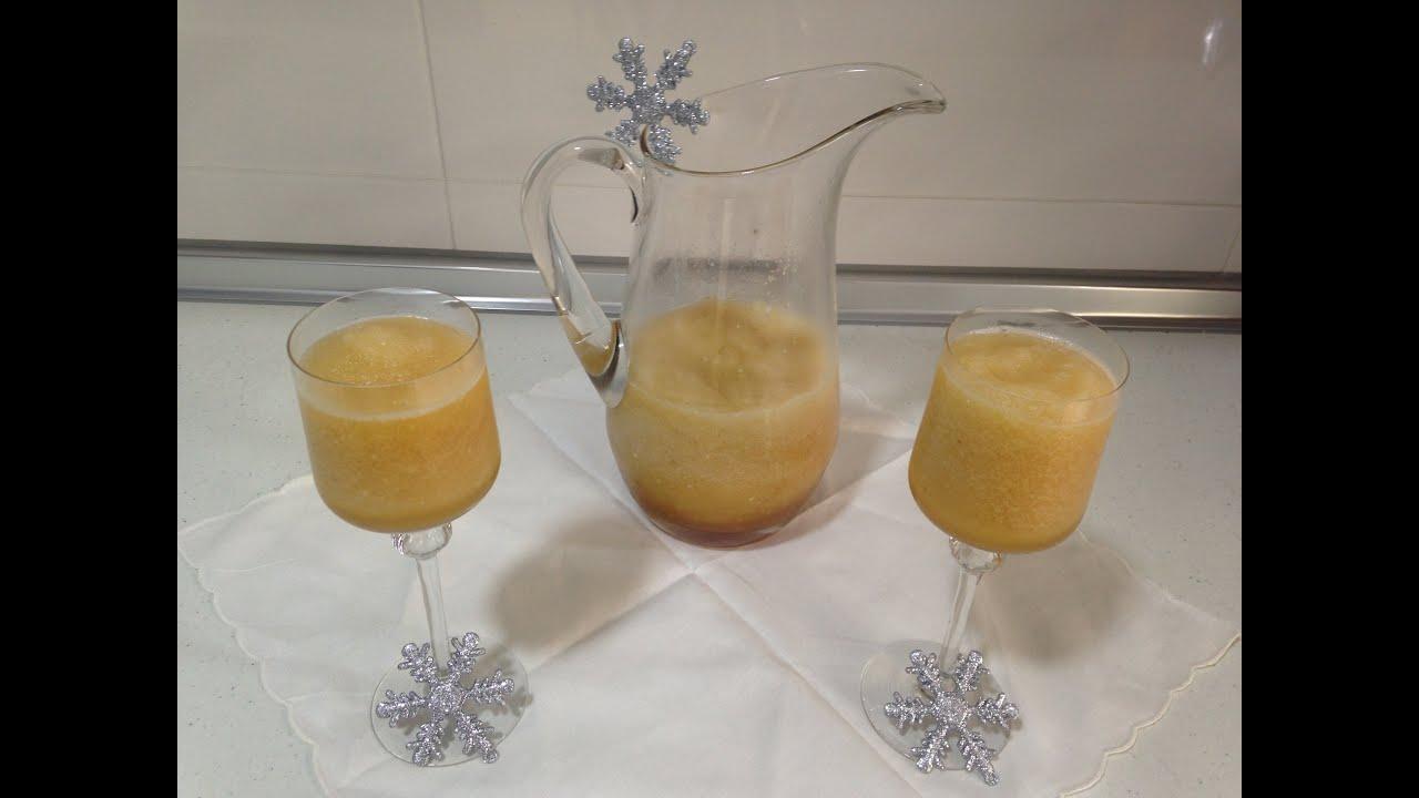 Sorbete de lim n al cava monsieur cuisine silvercrest - Sorbete limon al cava ...