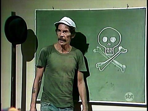 Chaves - O primeiro dia de aula (1975) partes 1 e 2 - HD