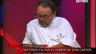 Don Carter y su chiste tierno en viernes sin censura de #MVSinCensura