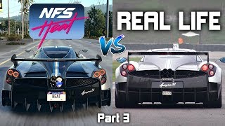 Need For Speed Heat vs REAL LIFE Exhaust Sounds Direct Comparison! -Part 3-