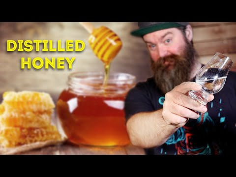 I turned a Bucket Of Honey Into Mead & Distilled It
