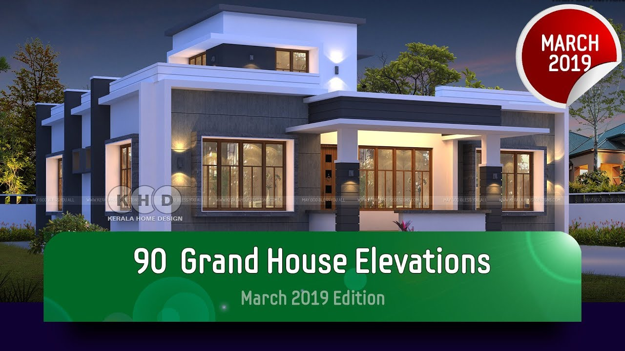 90 Best House Elevation Designs Of March 2019