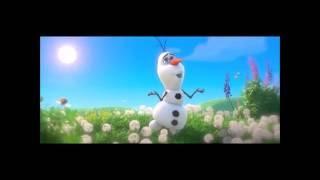 "Песня снеговика Олафа из мультфильма ""Холодное сердце"""