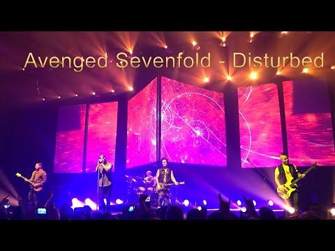 Avenged Sevenfold  - The Stage Live  - Special Guest Disturbed  - 26.02.2017 - Switzerland Zürich