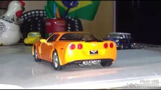 Kinsmart - Chevrolet Corvette Z06 2007 Diecast Review