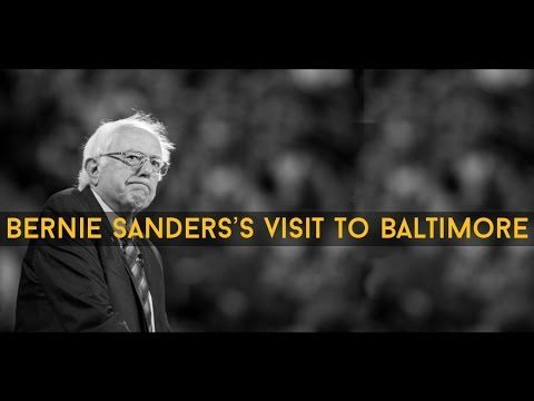 Bernie Sanders Joins Baltimore Community Panel on the Challenges Facing Youth of Color